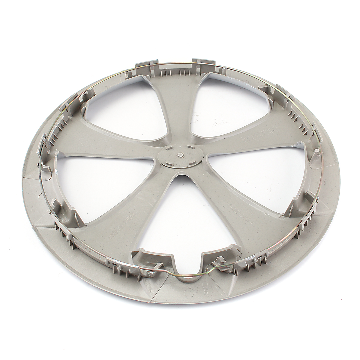 40.8cm Silver Plastic Car Wheel Tire Cover for Toyota Prius/Prius C 2012-2015