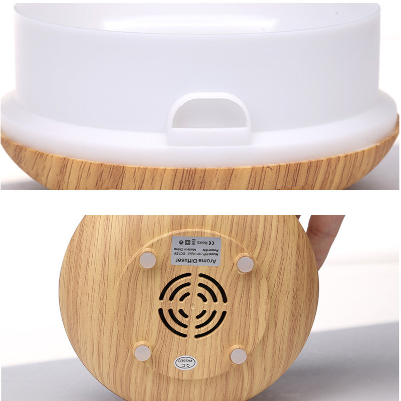 LED Aroma Diffuser Ultrasonic Humidifier Air Aromatherapy Purifier