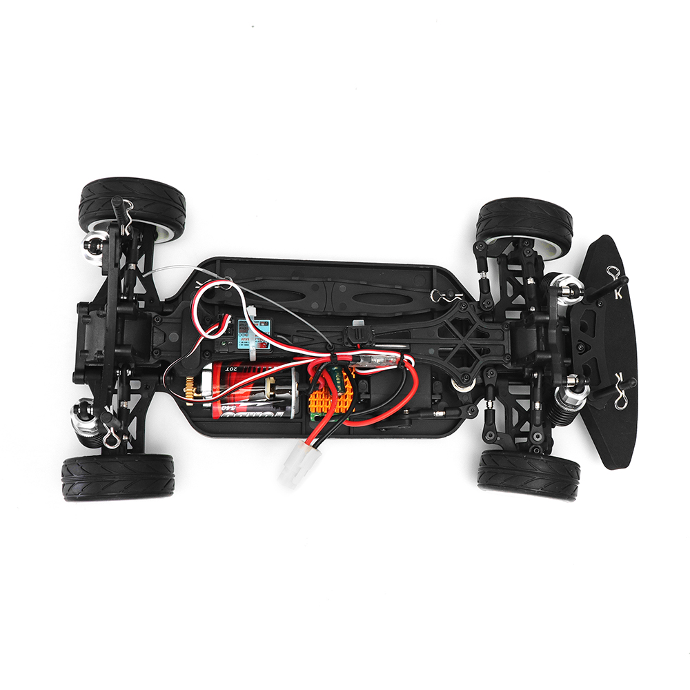 RH1025 1/10 4WD Brushed RTR RC Car With 7.2V 1800Mah Battery