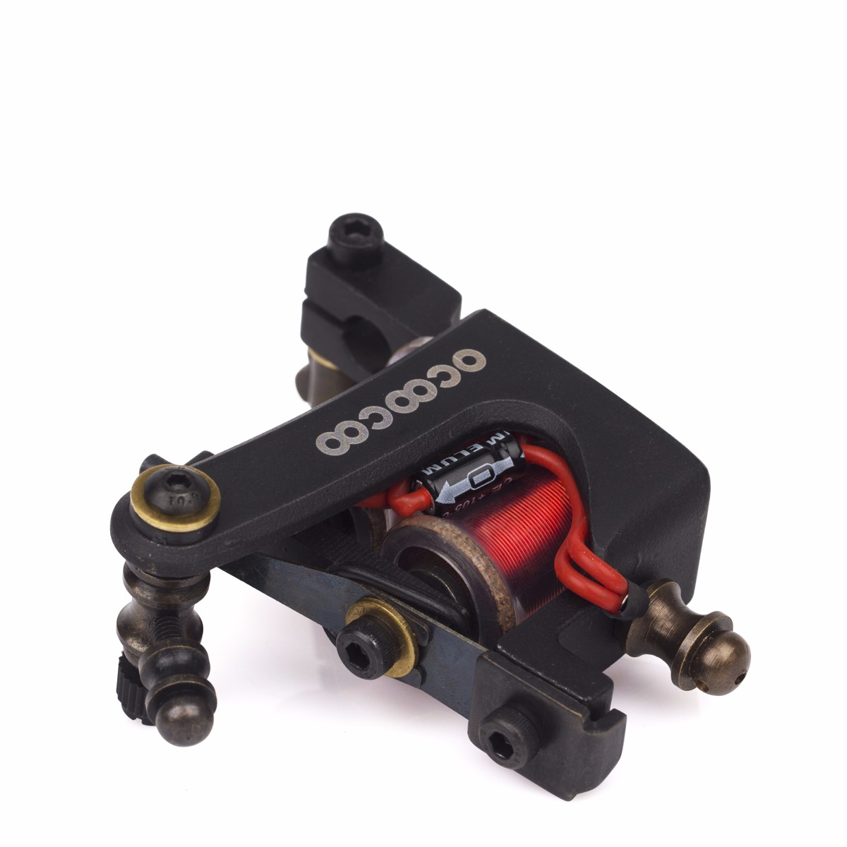 OCOOCOO ST400 Japan OFC High End Warps Coils Master Shader Tattoo Machine High Performance