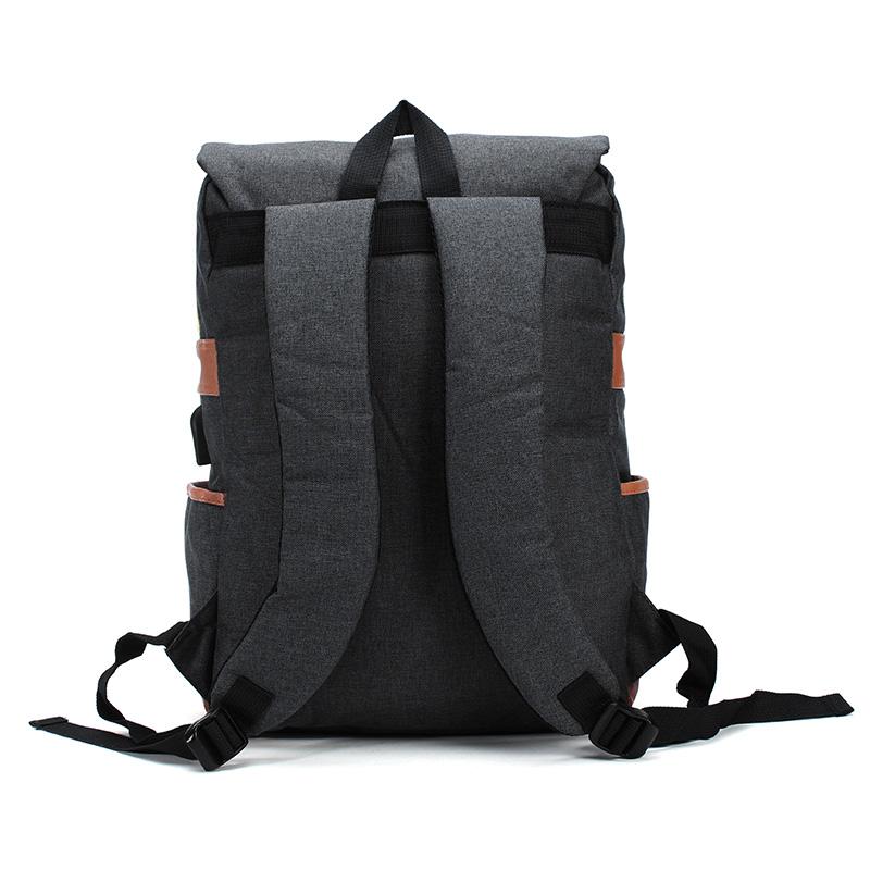 Men's Women's Anti Theft Waterproof Laptop Backpack Bag Travel Bag With External USB Charging Port