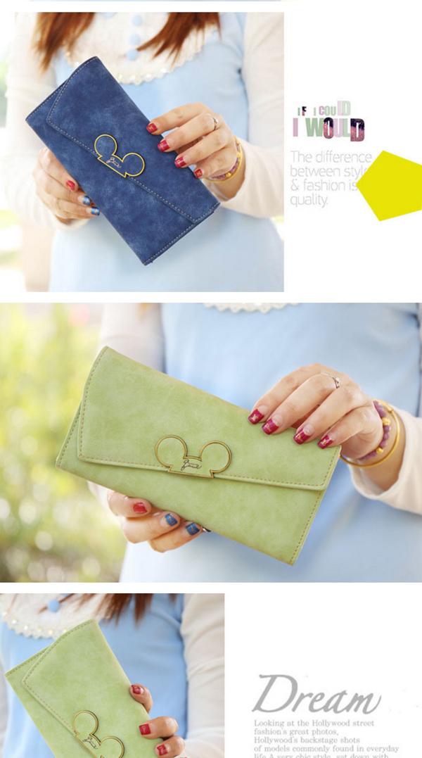 Women's Fashion Cute Money Bag Long Purse