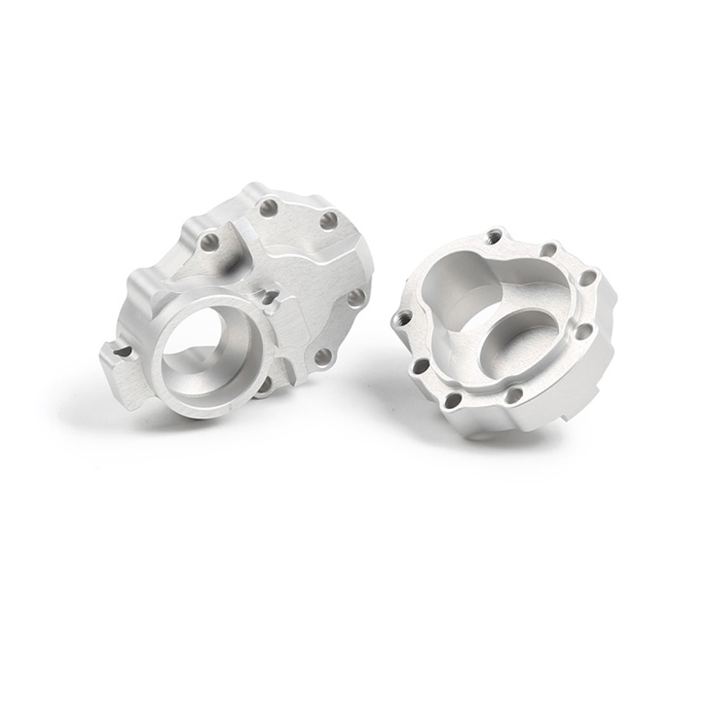Rear Axle Gear Box Base 82056 Metal 7075 Aluminum Alloy Upgraded Cup Lid For 1/10 TRX4 RC Car - Photo: 2