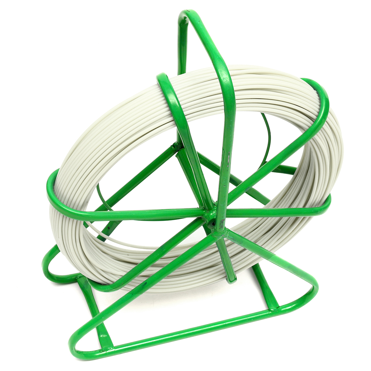 6mmx130m Fiberglass Wire Cable Rod Duct Snake Fish Running Puller Lead Rodder