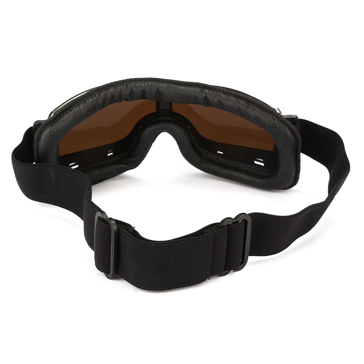 Helmet Leather Goggles Anti-UV Protective Glasses Eyewear Motorcycle Bike Scooter