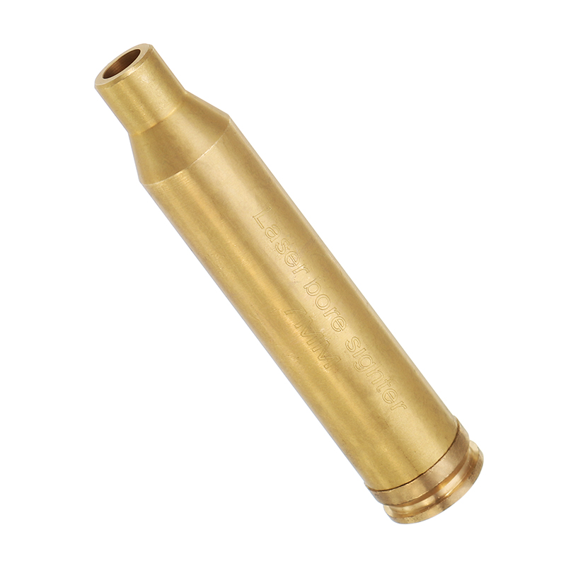 CAL 7MM Laser Bore Sighter Red Dot Sight Brass Cartridg