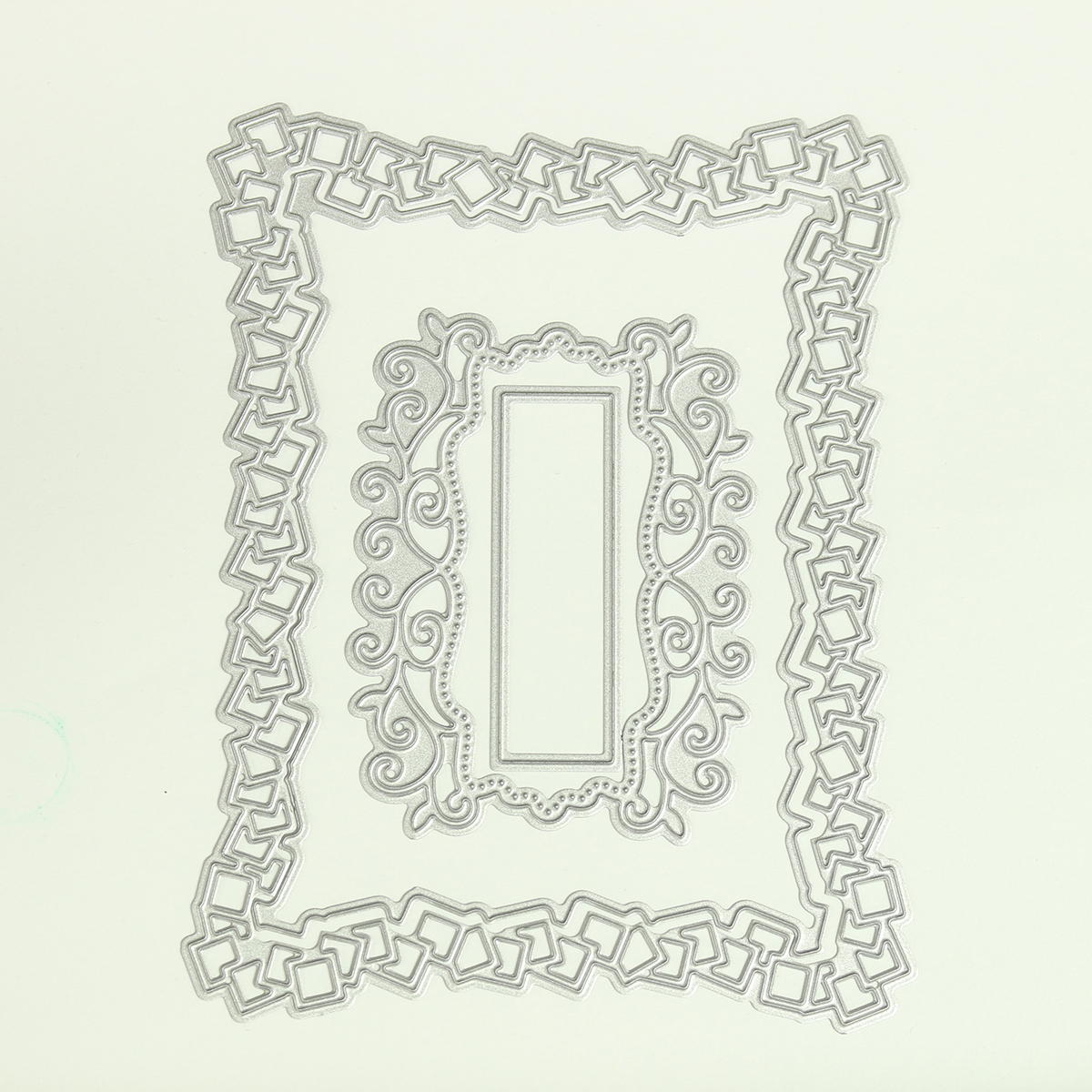 Photo Frame Pattern Cutting Dies Stencil Scrapbooking Album Card Embossing Craft DIY Frame