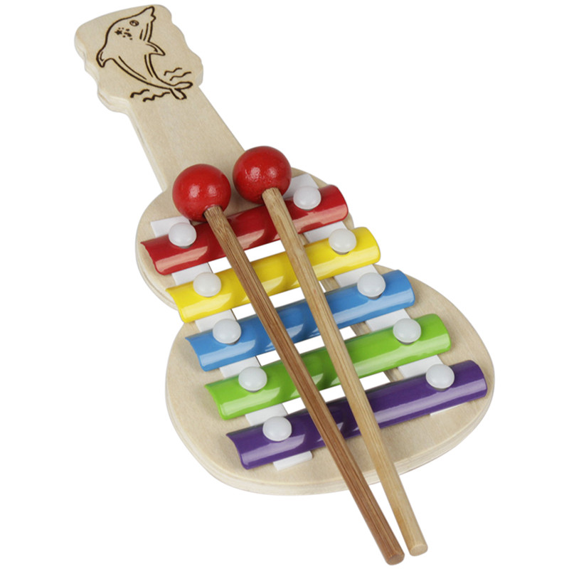 IRIN Orff Trumpet 5 Tones Alluminio Piano Random Modello Strumento musicale per bambini