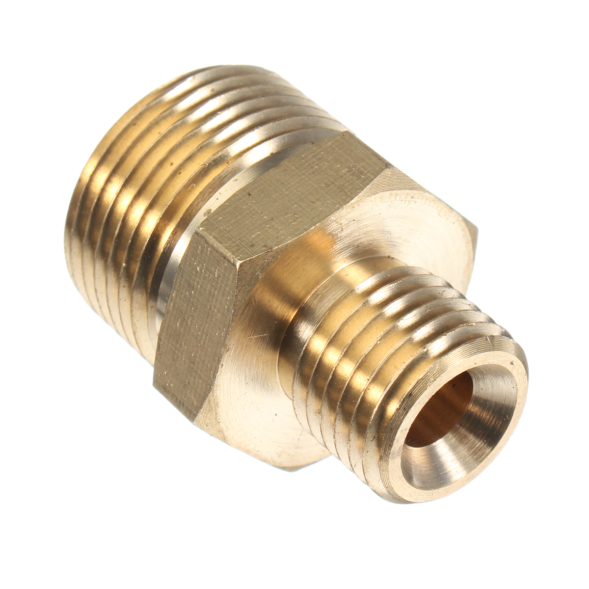 M22 Male To 1 4 Male Adapter Brass Pressure Washer Hose