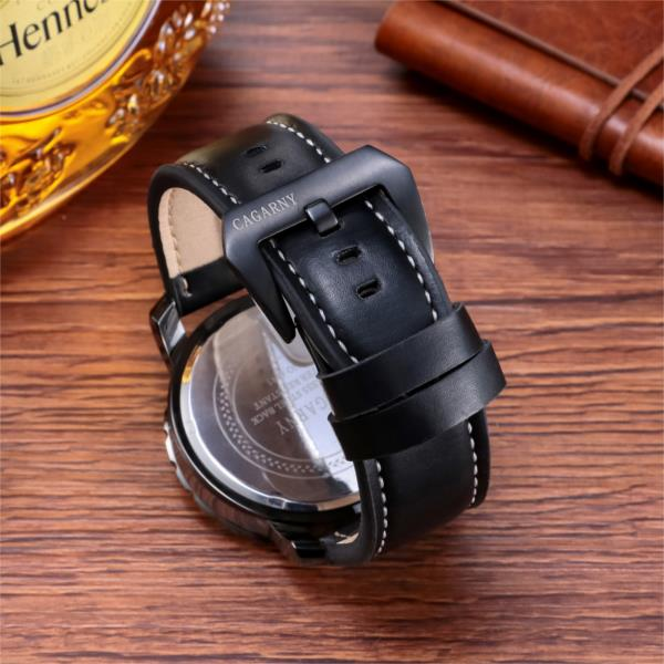 CAGARNY 6845 Business Men Watch Fashion Men Wrist Watch Simple Quartz Watch