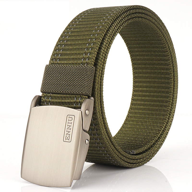 120cm ENNIU YG4B Night Running Luminous Belt Nylon Tactical Waist Belt