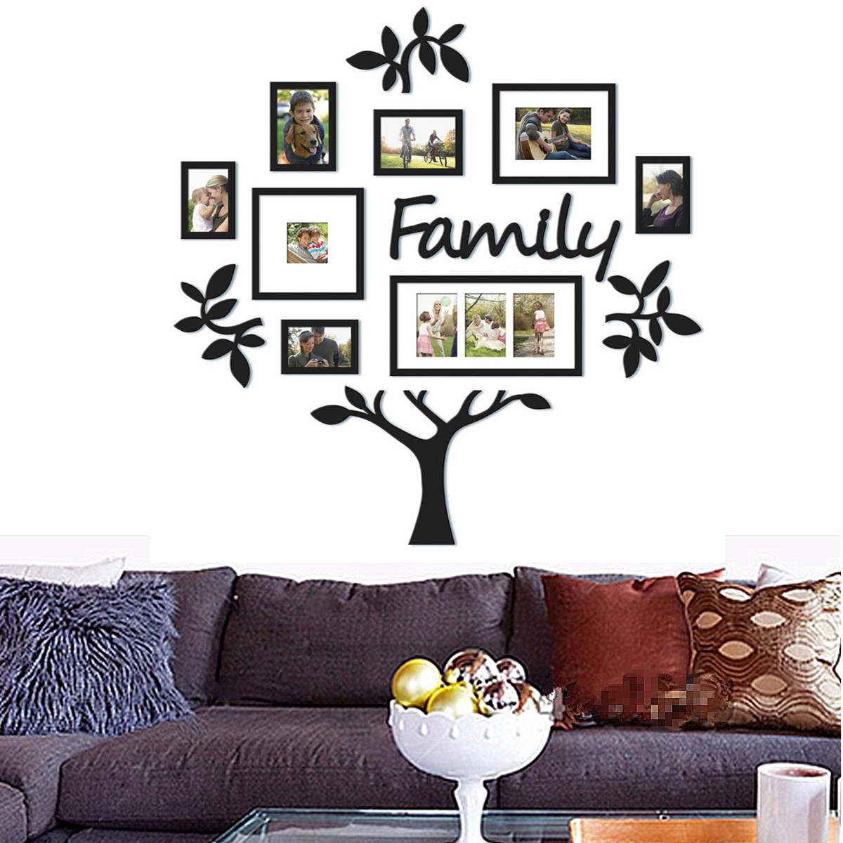Family Tree Frame Collage Pictures Photo Frame Collage Photo Wall ...