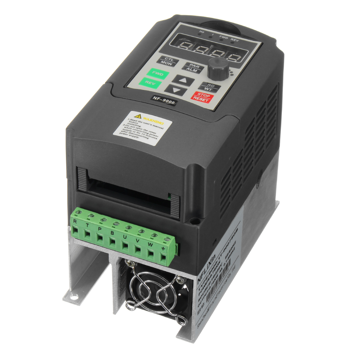 220v 075kw 4a Single Phase Variable Speed Motor Drive The Solidstate Circuitry Of A Variablefrequency Can Be Frequency Converter