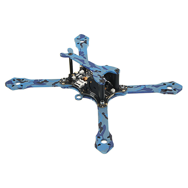 Eachine Wizard TS215 215mm FPV Racing Frame 4mm Frame Arms Carbon Fiber - Photo: 4