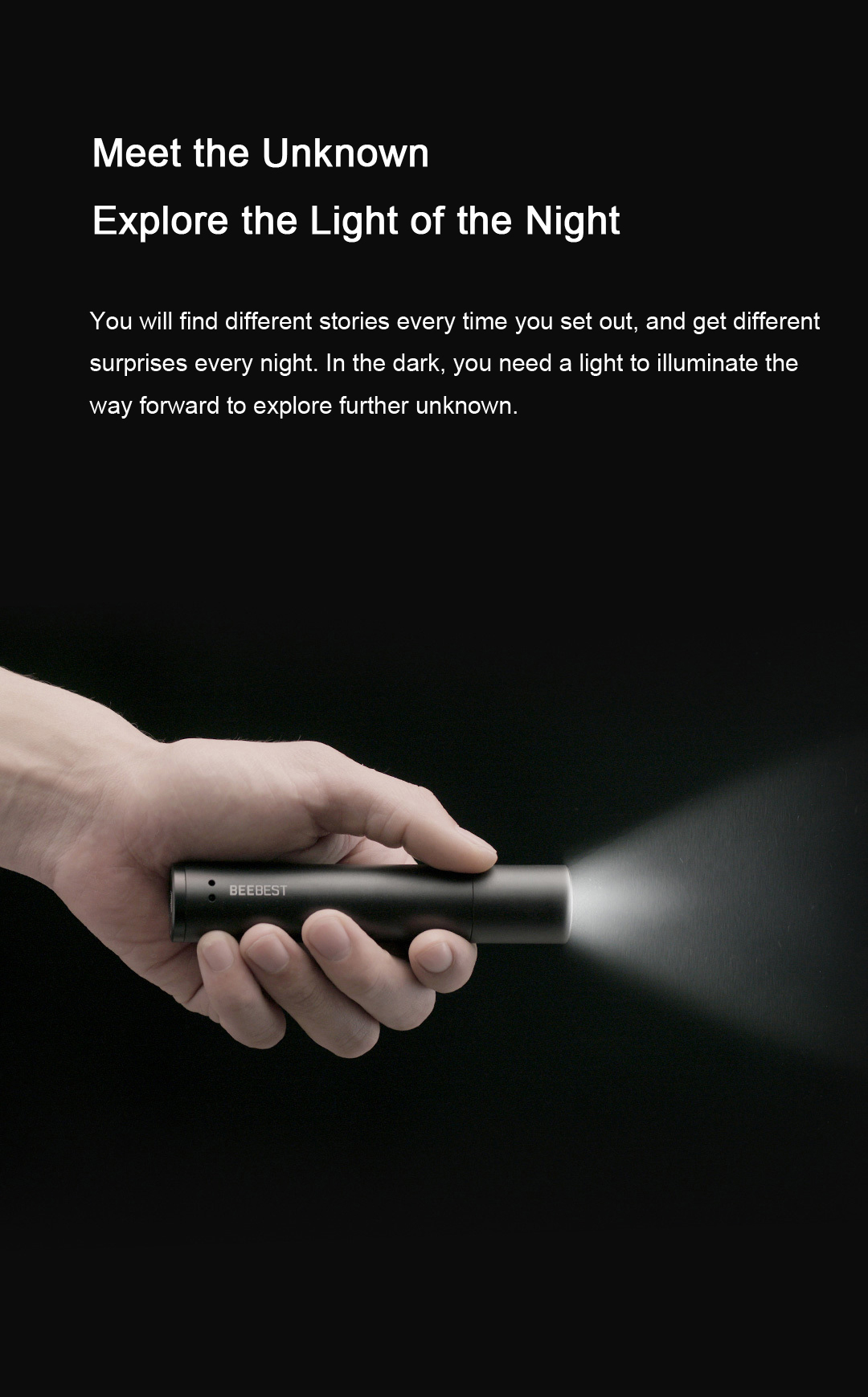 BEEBEST FZ101 XP-L HI 1000LM 5Modes Zoomable Portable EDC Flashlight From Xiaomi Youpin