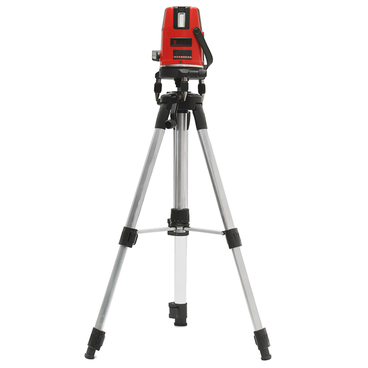 5 Lines 6 Points Professional Waterproof Laser Level Red Automatic Level 360° Rotating Outdoor Mode + Tripod