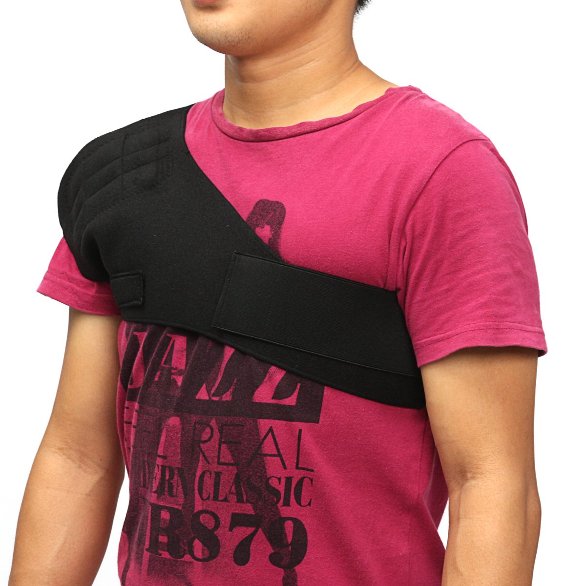 Tourmaline Self Heating Magnetic Shoulder Brace Compression Support Pain Relief