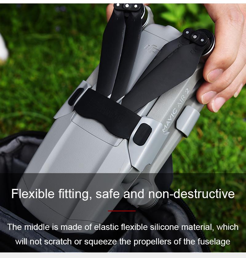 STARTRC Propeller Blade Bracket Fixator Protection Holder Clasp Clip for DJI Mavic Air 2 RC Drone Quadcopter