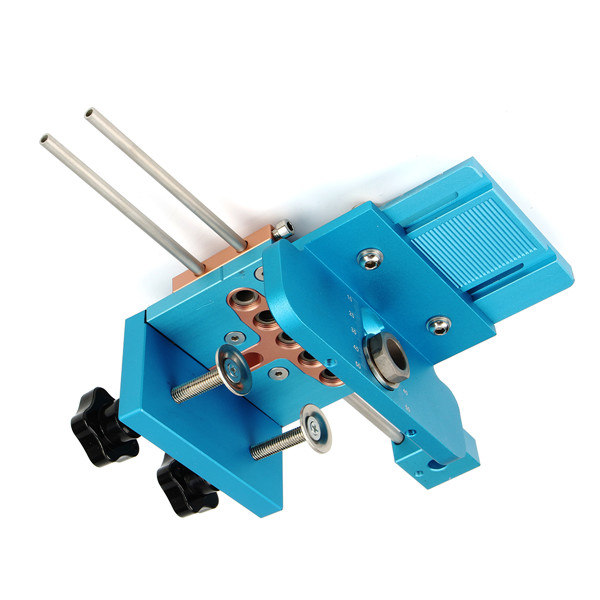 3 in 1 Drill Guide Locator Kit Indexable Joinery Dowel Jig ...