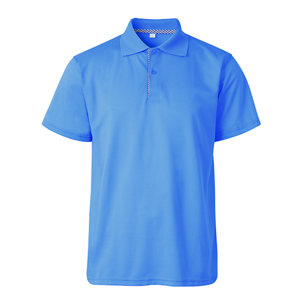 6 Colors Mens Breathable Solid Color Short Sleeved Pique Golf Shirt