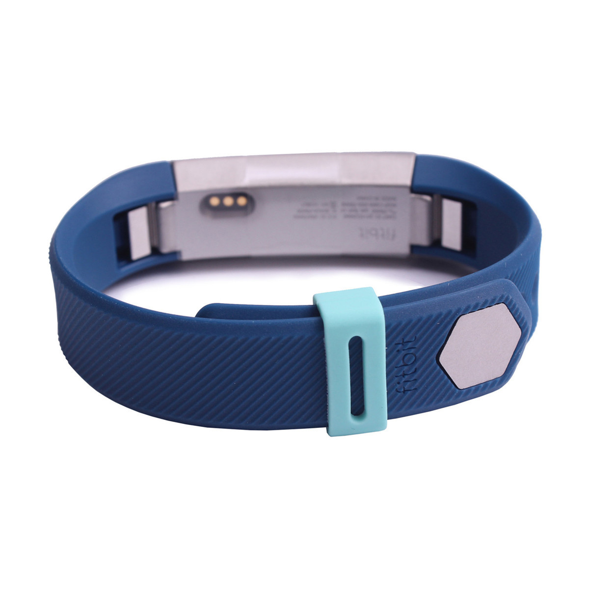 Replacement Silicone Security Wristband Clasp Ring Loop Fastener For Fitbit Alta