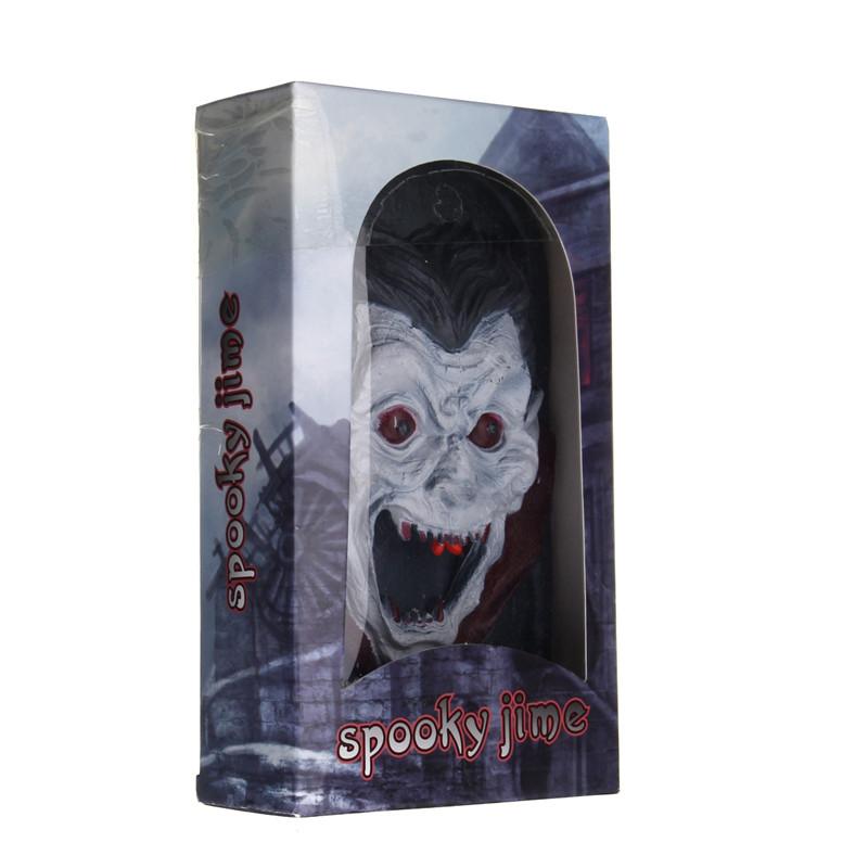Halloween Party Home Decoration Illuminated Terror Skeleton Vampire Doorbell Horrid Scare Scene Toy