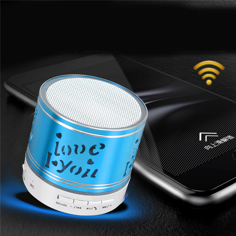 Mini Music Box Subwoofer Wireless Bluetooth Speaker Support TF AUX USB FM For Tablet