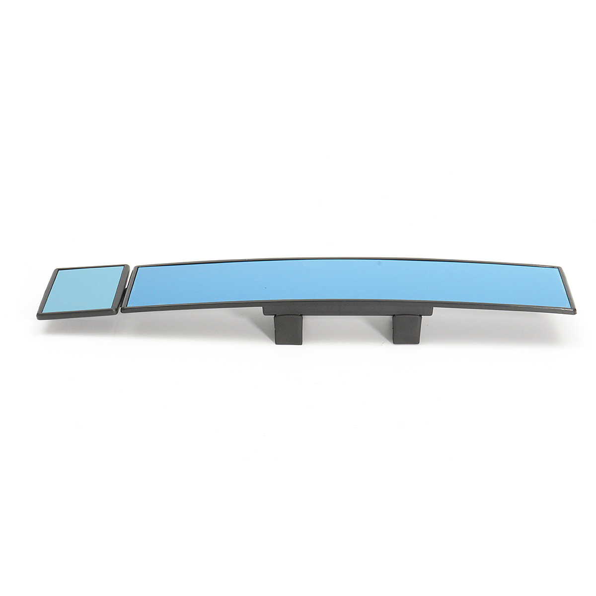 2 In 1 Wide Angle Car Rear View Interior Double Mirror Convex Glass