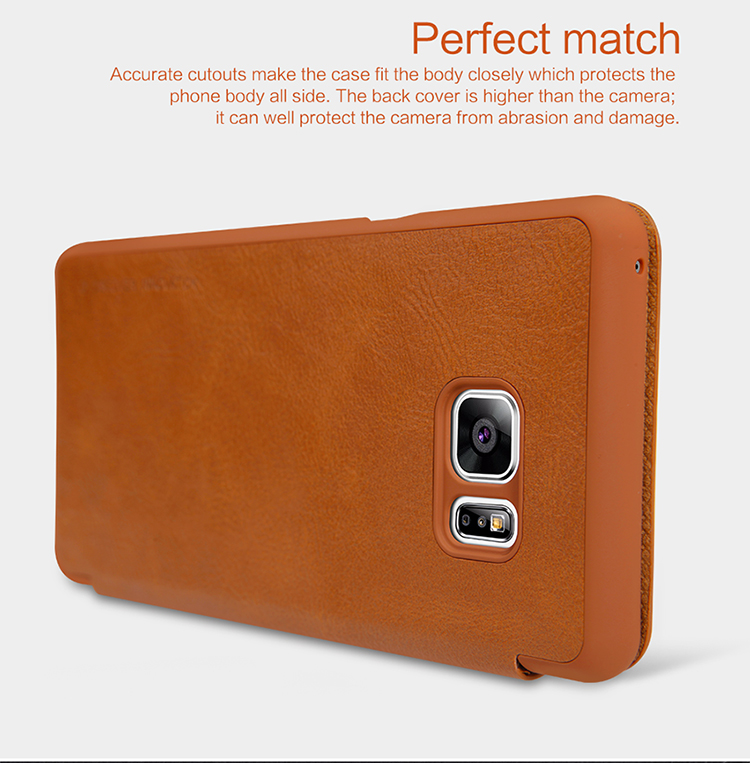 NILLKIN Leather Dirtproof Flip Cover for Samsung Galaxy Note 7