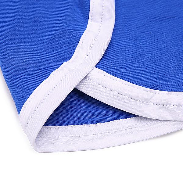 Sexy Cozy Casual Home Cotton Breathable Antibacterial Slits Arrow Pants Boxer Underwear for Men