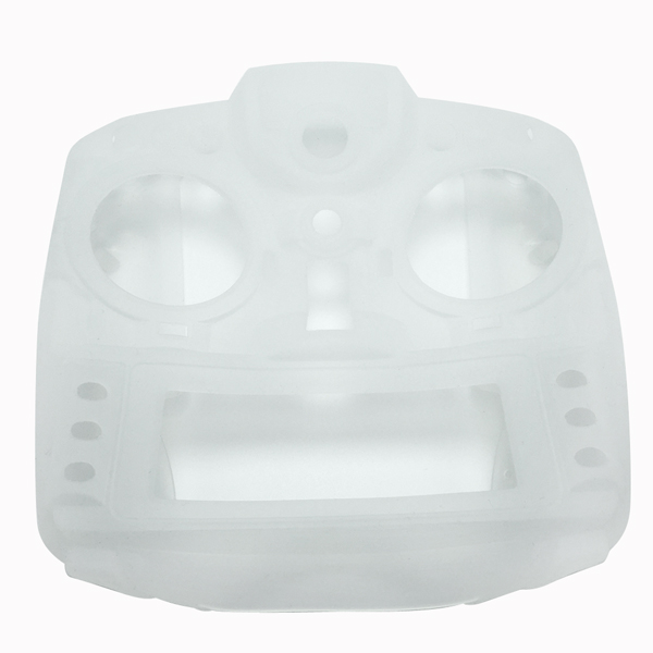 Silicone Protector Case Scrub Feel for FrSky Taranis X9D Plus SE Transmitter Black White