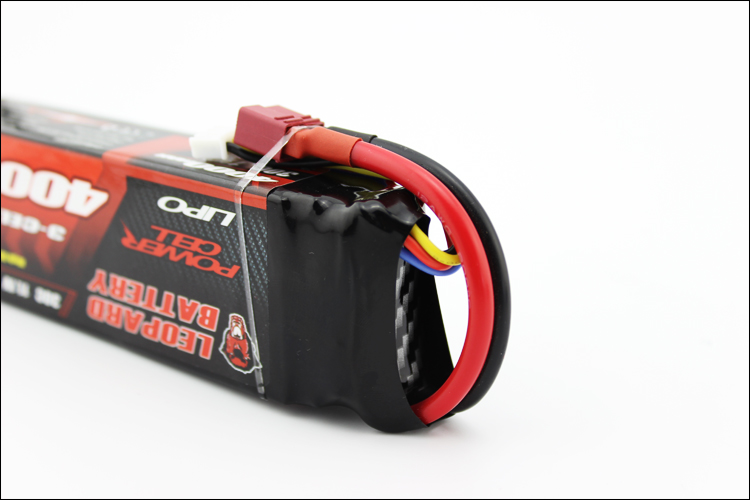 LEOPARD Power 11.1V 4000mAh 30C 3S T Plug Lipo Battery for 1:8 1:10 RC Car