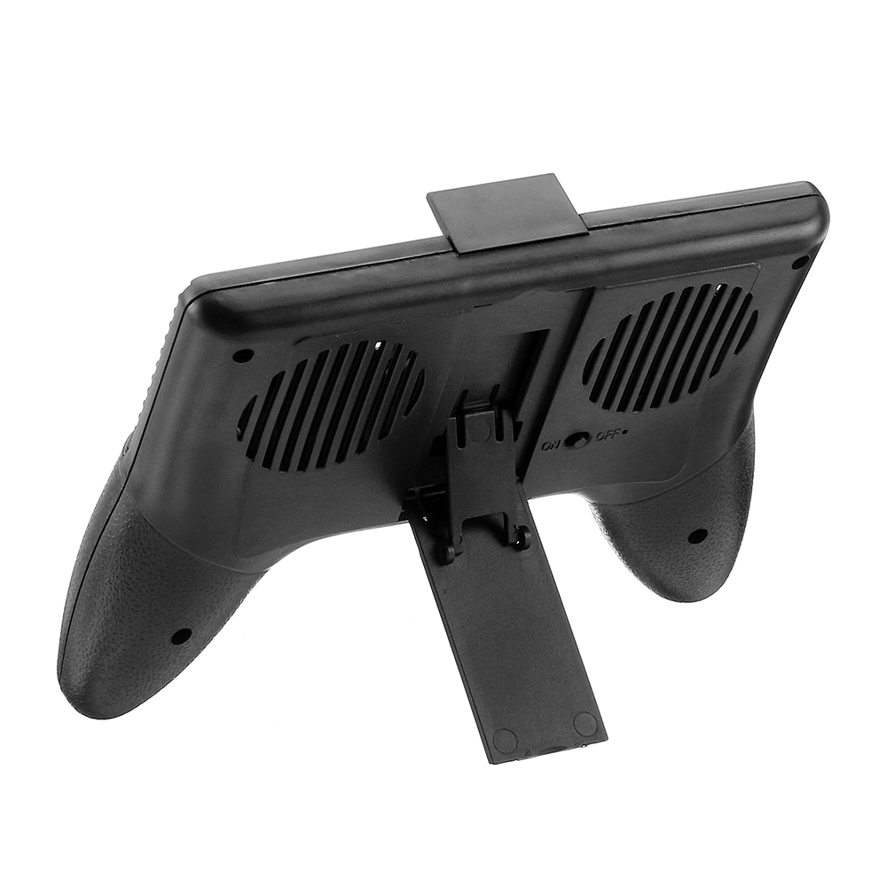 Zhanchi 005 Gamepad 4.0-6.5 Inch Phone Handgrip Holder Stand with Cooling Fan Power Bank for Mobile Phone
