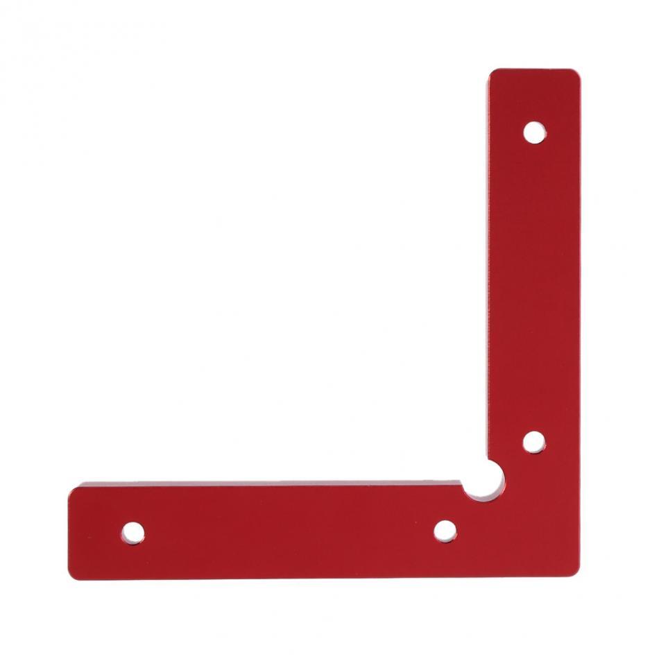 Aluminium Alloy Corner Clamps L Shape 90 Degree Right Angle Corner Clamping Tools Wood Metal Welding Fixing