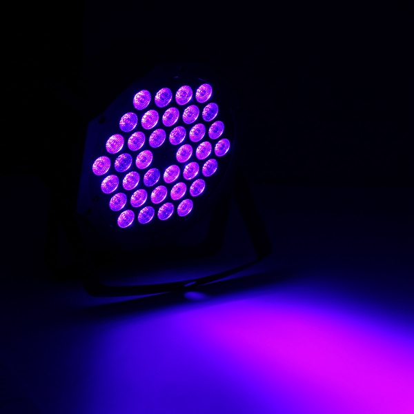 36W 36 LED UV Black Light DMX512 Sound Actived Stage Lamp for Disco Club Bar DJ Show AC90-240V