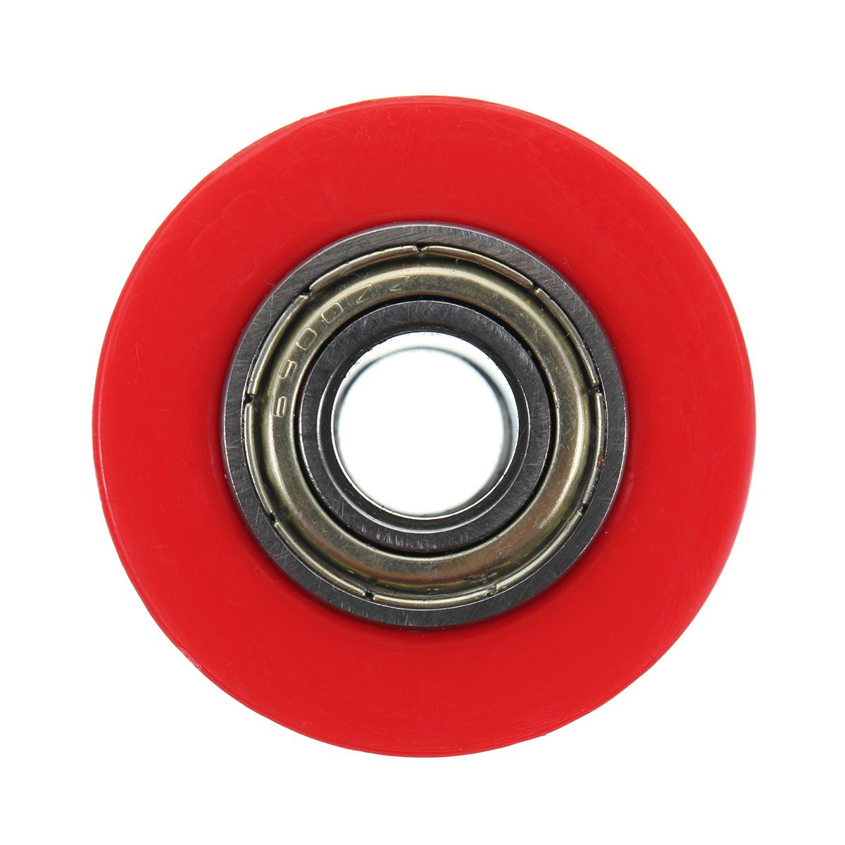 10mm Chain Roller Slider Tensioner Wheel Guide For Pit Dirt Mini Bike Motorcycle Black/Red/White