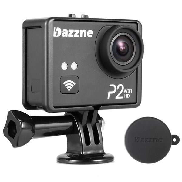 Dazzne P2 WiFi HD 1080P 2.0 Inch TFT Screen Waterproof Action Sports Camera HD HD Output Support SD