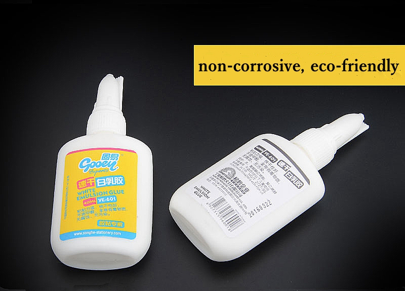 40ml White Emulsion Glue For DIY Paste Cardboard Repair Furniture Wood Working