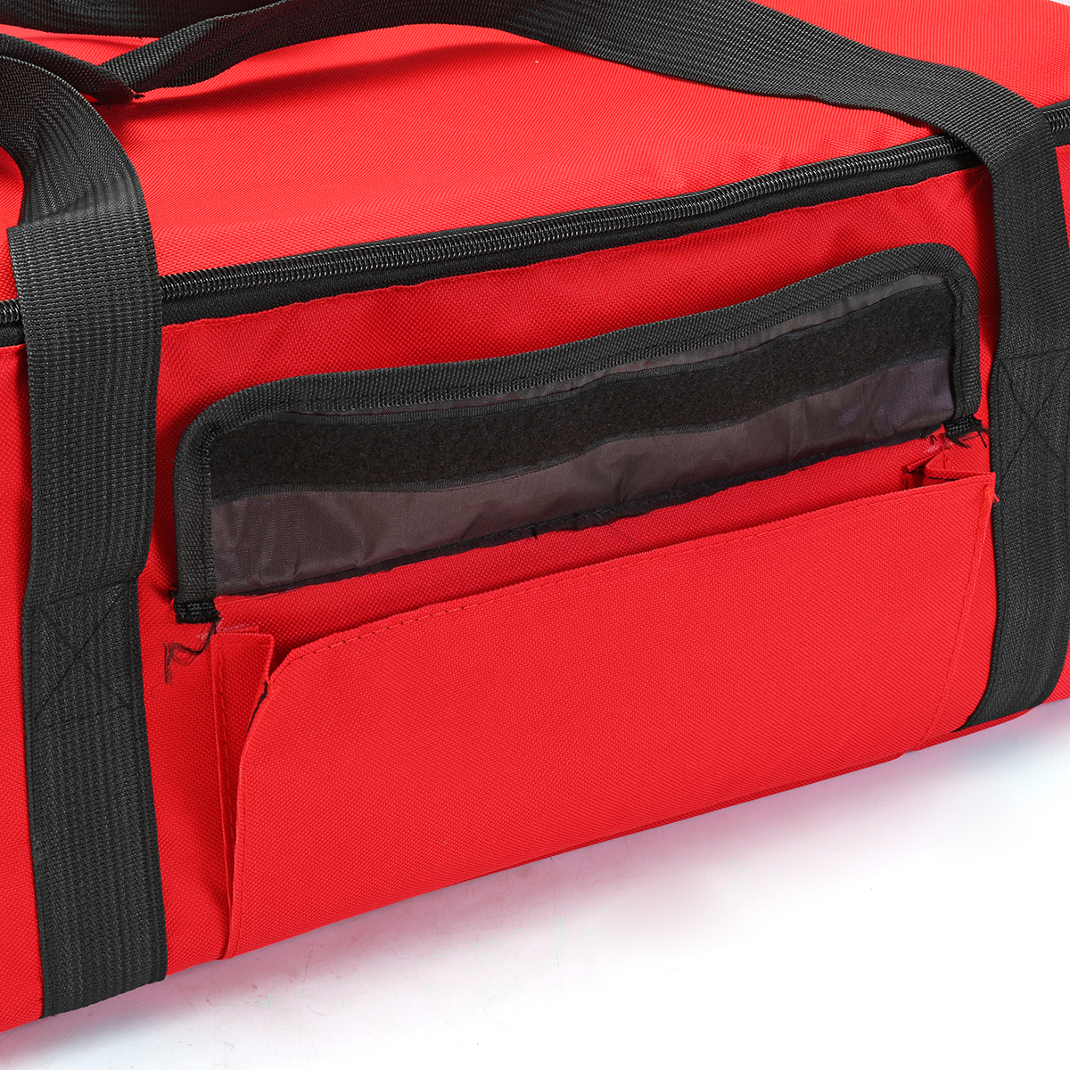 53*48*23cm Insulated Foil Food 16'' Pizza Delivery Bag Heat & Cold Oxford Storage Lunch Bag