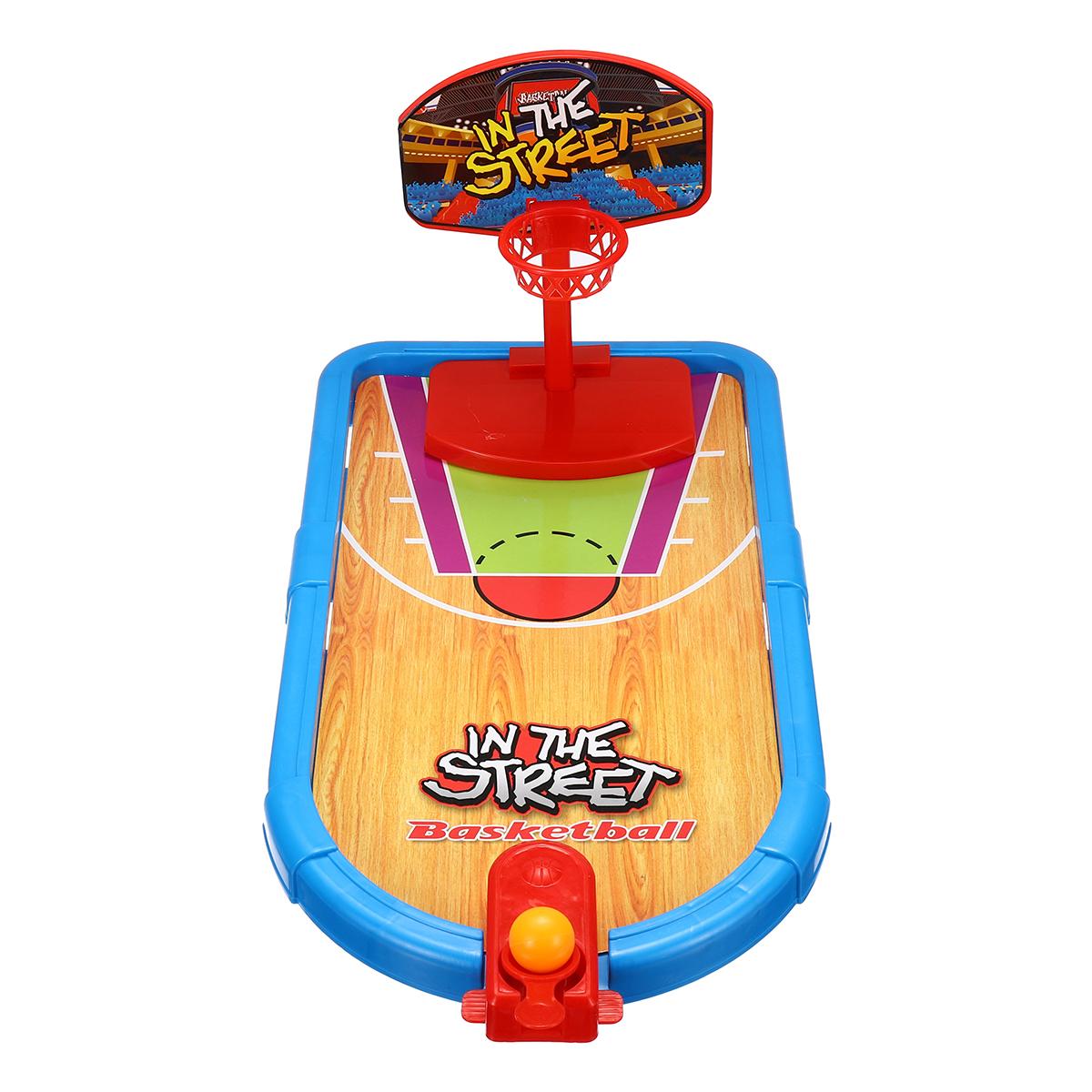 Kids Desktop Game Target Shooting Basketball Football Bowling Ball Children Family Game Toys