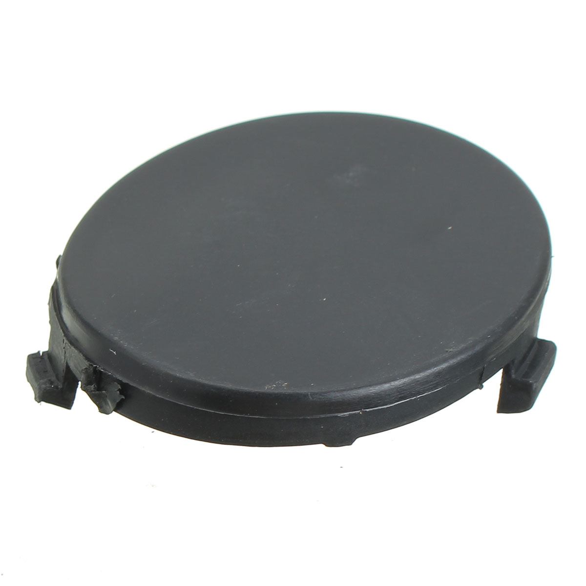 Round Front Bumper Towing Tow Eye Cover Cap Black For Ford 08-11 Focus 1521645