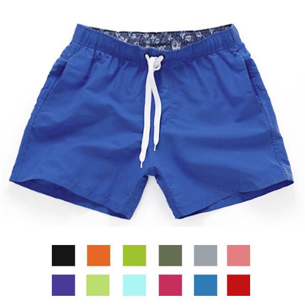 11 Colors Summer Mens Fast Dry Shorts Breathable Big Pants Beach Shorts