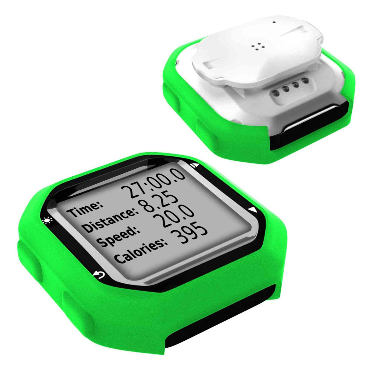 Bike Cycling Silicone Rubber Case Cover Skin For Garmin GPS Edge 20/25 with Sticker