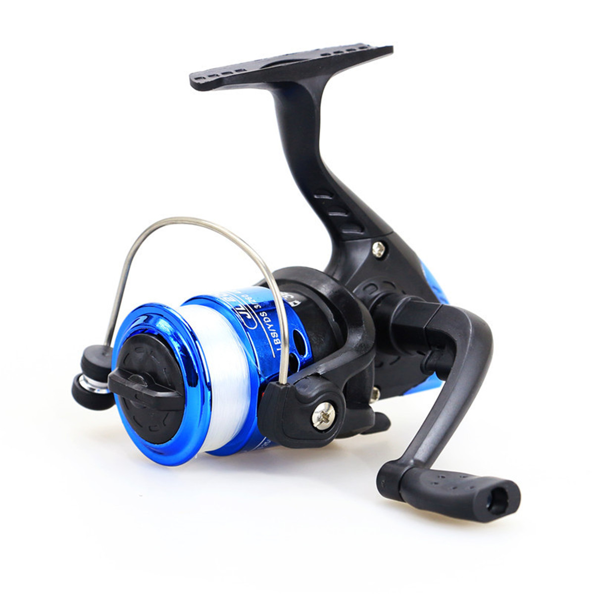 ZANLURE 5.2:1 3BB Spinning Fishing Wheel L/R Handle Saltwater Freshwater Fishing Reel