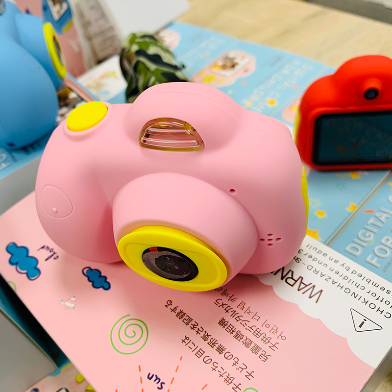 Children Camera HD Digital 800P TF Card Camcorder USB Rechargeable Early Education Puzzle Novelties Toys