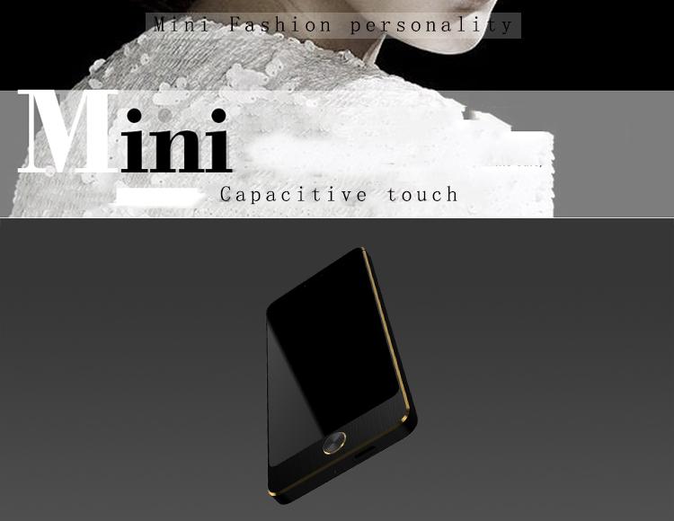 Anica S5 1.54 Inch 450mAh Ultra Thin Dual SIM bluetooth MP3 Intelligent Anti-lost Mini Card Phone