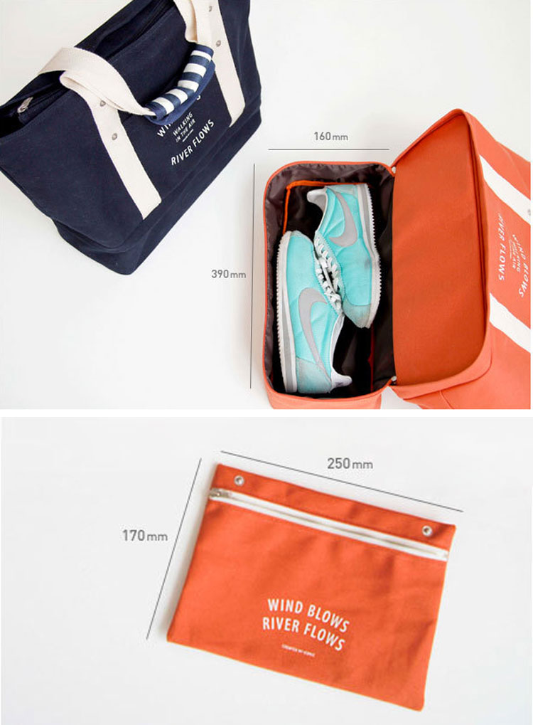 Multifunctional Large Travel Bag Waterproof Cloth Shoes Handbag Portable Storage Bag Luggage