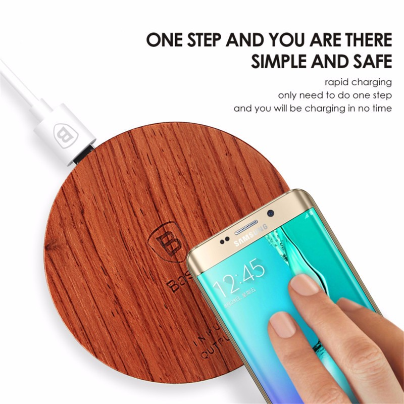 BASEUS Flagship Wireless Charger Charging Base for iPhone 7 Samsung Galaxy S7 Edge S6 5 HTC LG