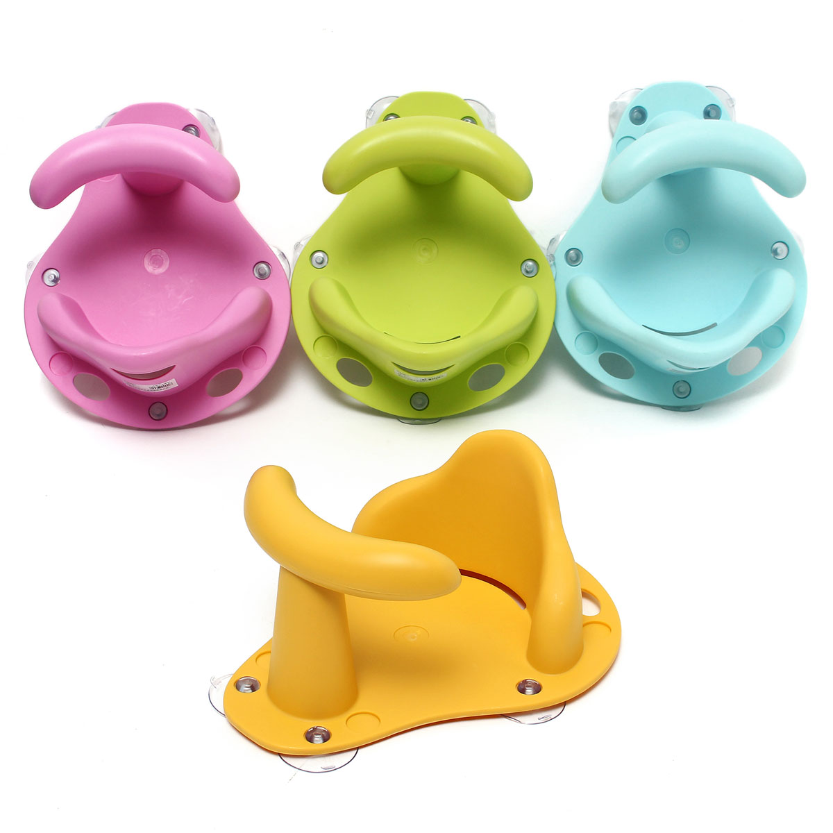 4 Colors Baby Bathtub Ring Seat Infant Children Shower Toddler Kids ...