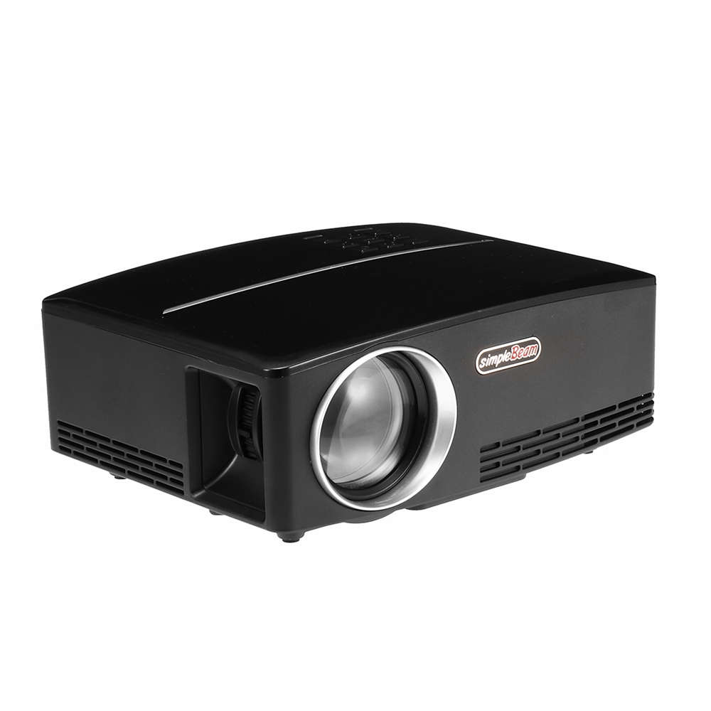 GP80 Projector Multimedia 1080P 3D LED Home Cinema Projector 7000 Lumens